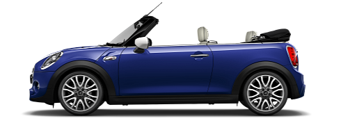 Convertible side view